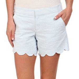 Pants - Lily Pulitzer Blue Seersucker Buttercup Shorts